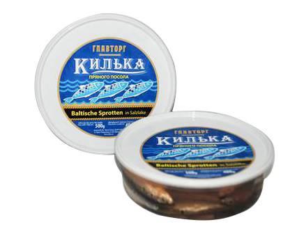 Glavtorg Kilka/Sprotten in Gewuerzlake 500 gr