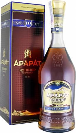 Коньяк АРАРАТ «Ахтамар» XO 10 лет 0,5L 40%