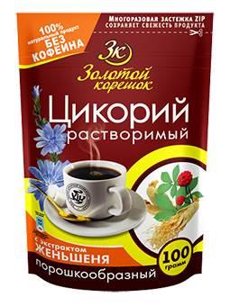 Zolotoj Koreshok Zichorienpulver mit Ginsen 100g