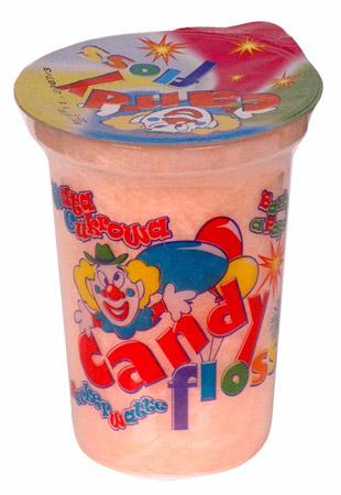 Zuckerwatte  Candy Floss 400ml 20g