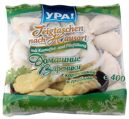 YPA! Wareniki Kartoffel/Pilze 400g
