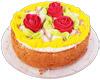 Торт 700g «Цветочная поляна» заморож.